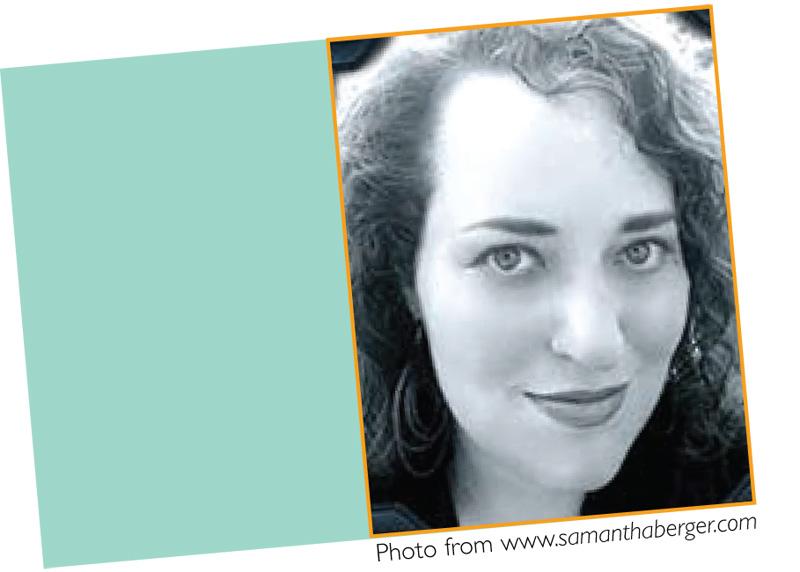 January 2011 Meet Samantha Berger