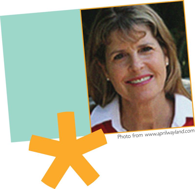January 2012 Meet April Halprin Wayland