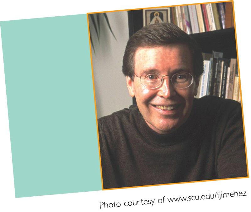 August/September 2009 Meet Francisco Jiménez
