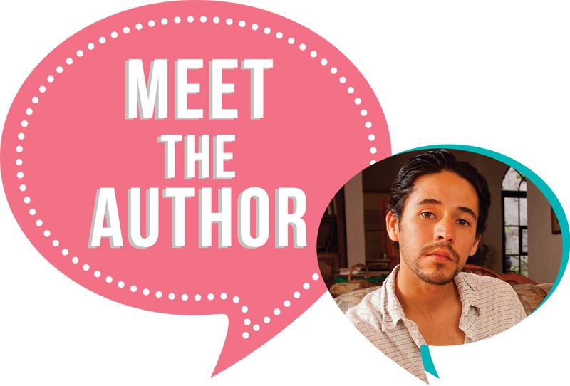 August & September 2015 Meet the Author